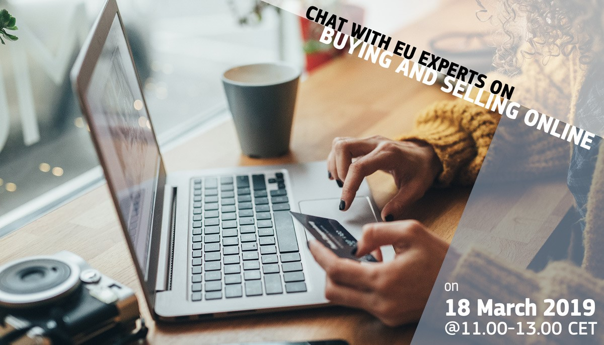Summary image for  Buying & Selling Online - Facebook chat with EU experts